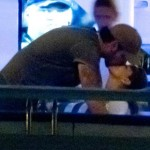Eva Longoria y Eduardo Cruz foto besándose