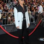 Johnny Depp y Penelope Cruz en el estreno de Piratas del Caribe 4